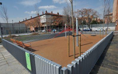 Inauguració de la Plaça Baró de Viver de Barcelona