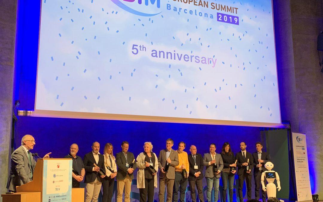 Presents un cop més al European BIM Summit 2019