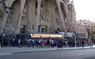 La Sagrada Família inaugura les noves taquilles fabricades a Calaf