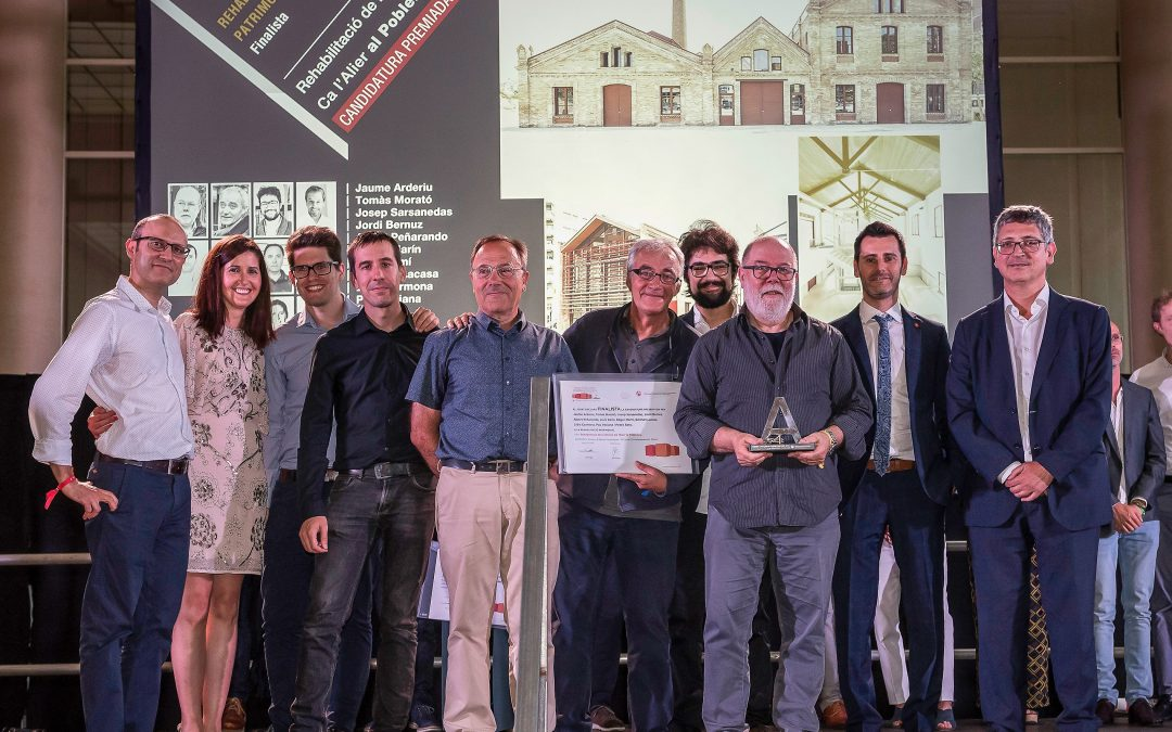The rehabilitation of the Ca l'Alier's factory in Poblenou was granted by Catalunya Construcció Awards.