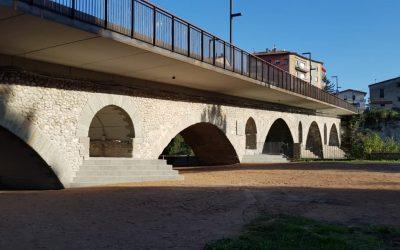 Inauguració del Pont de Can Molas, Manlleu