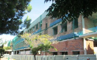 Agrandissement de l'école Pia à Caldes de Montbui