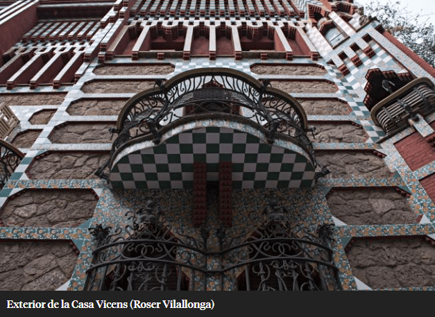 Casa Vicens restored by UTE Calaf Constructora and AMC5, opens its doors to the public on November 16