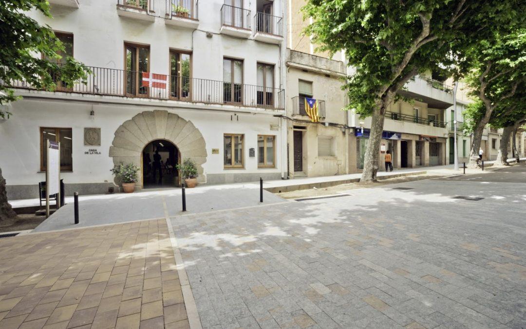 La urbanització de la Riera d'Arenys de Munt, projecte seleccionat a la 5a Mostra d'Arquitectura de Catalunya (Maresme)