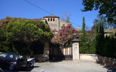 Avancen les obres de la Masia de Can Fargas al barri d'Horta-Guinardó de Barcelona