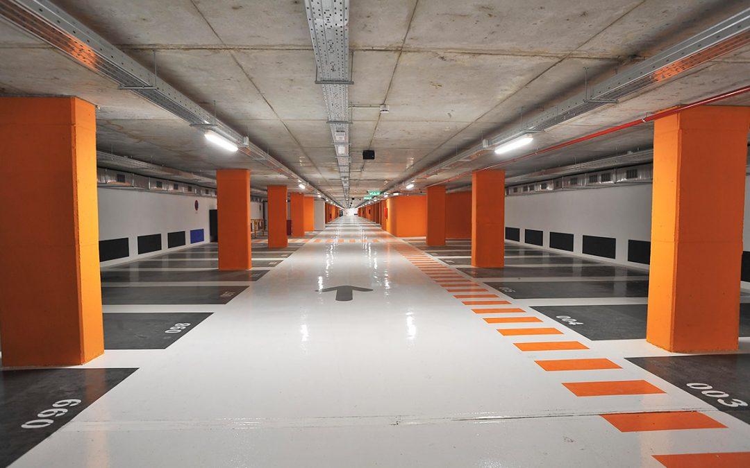 Parking UTE VIAS al Prat de Llobregat