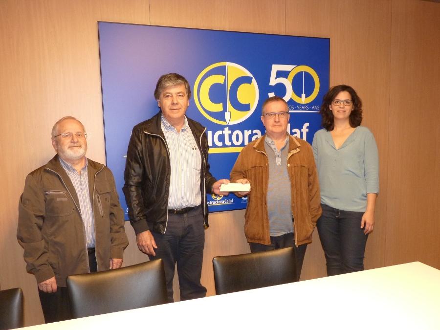 Col·laboració amb Càritas en motiu del 50è Aniversari de Constructora Calaf