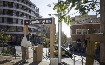 Comencen les obres de la Línia 9 del metro de Barcelona, Plaça Sanllehy