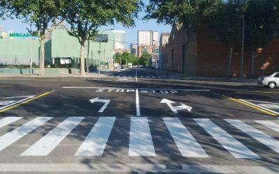 Finalitzen les obres urbanes dutes a terme en l'àmbit 22@ de Barcelona