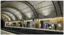 Ensanchamiento del andén de Sarrià de la estación de Provença de los FGC
