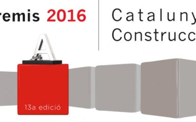 Dues obres realitzades per  Calaf Constructora finalistes a la XIII Edició dels Premis Catalunya de Construcció.