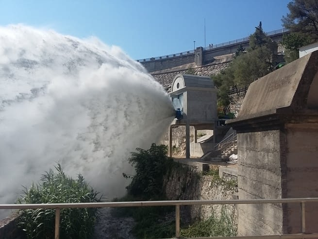 Calaf Constructora has completed the adaptation of the upper outlet of the Foix reservoir