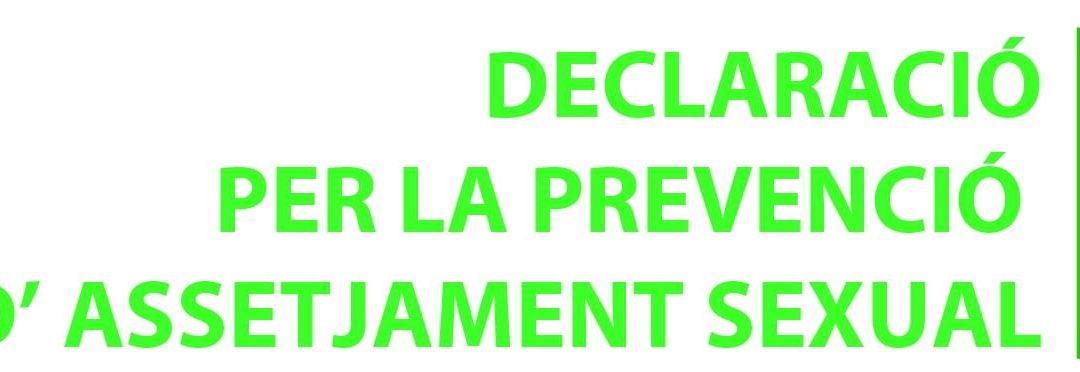 Calaf Grup firma una Declaración para la prevención de acoso sexual