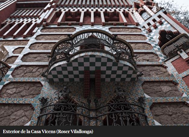 Casa Vicens restaurada por la UTE Calaf Constructora y AMC5, abre sus puertas al público el 16 de noviembre