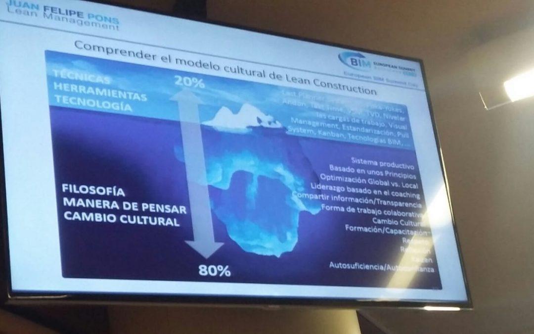 Presentes en el European BIM Summit Day