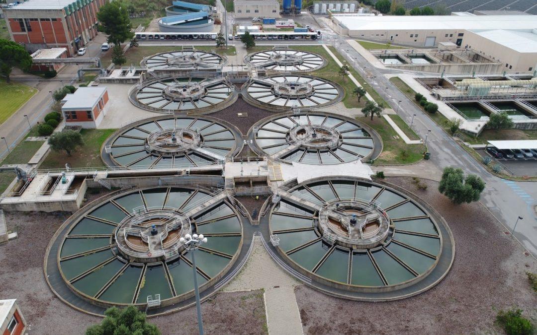 Actuaciones en la planta potabilizadora de Abrera