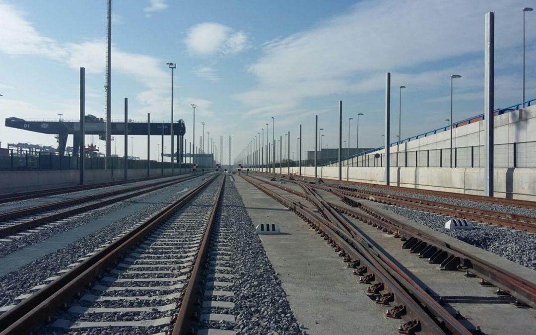 Acabats els accessos ferroviaris al port de Barcelona