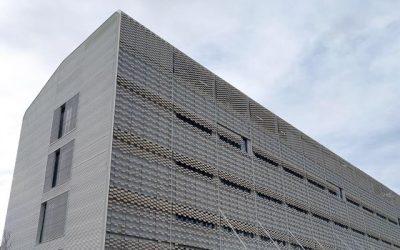 Calaf Constructora y Serom entregan al Departamento de Salud el nuevo edificio hospitalario polivalente del parque sanitario Pere Virgili-Vall d'Hebron